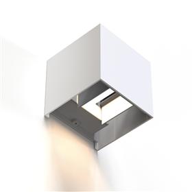 Hama SMART WiFi nástìnné svìtlo, ètvercové, 10 cm, IP44, pro vnìjší i vnitøní použití, bílé