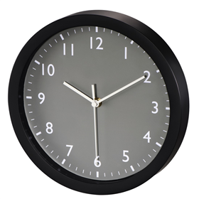 Hama Pure, nástìnné hodiny, 25 cm, tichý chod, šedé