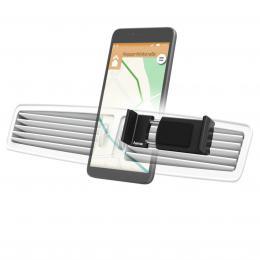 Hama Flipper, univerzální držák mobilu ve vozidle, pro šíøku 6-8 cm, hliníkový, èerný