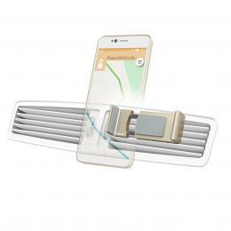 Hama Flipper, univerzální držák mobilu ve vozidle, pro šíøku 6-8 cm, zlatý