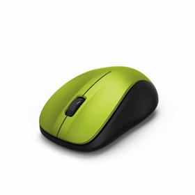 Hama bezdrátová optická myš MW 300, tichá, citronová žlutá