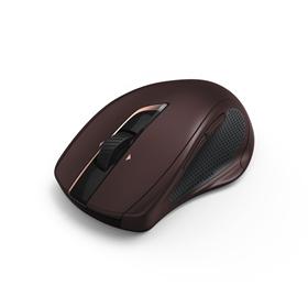 Hama bezdrátová laserová myš MW-800, 7 tlaèítek, auto DPI, tichá, bordová