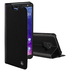 Hama Slim Pro, otevírací pouzdro pro Samsung Galaxy J6 (2018), èerné