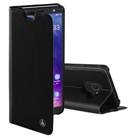 Hama Slim Pro Booklet for Samsung Galaxy J6 (2018), black