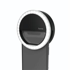Hama Selfie LED sv�tlo na mobil, 36 LED, �ern�
