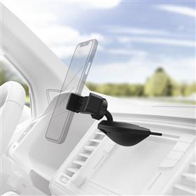 Hama držák mobilu do vozidla, uchycení v CD slotu, pro zaøízení se šíøkou 6-8 cm