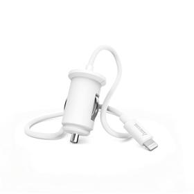 Hama rychlá nabíjeèka do vozidla s kabelem, Apple Lightning, Power Delivery, 18 W