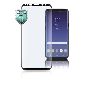 Hama 3D Full-Screen Protective Glass for Samsung Galaxy S9, black