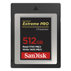 SanDisk CF Express Extreme Pro 512 GB