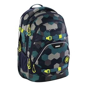 Školní batoh coocazoo ScaleRale, Blue Geometric Melange, certifikát AGR