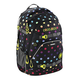 Školní batoh coocazoo ScaleRale, Magic Polka Colorful, certifikát AGR