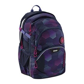 Školní batoh coocazoo JobJobber2, Purple Illusion  BONUS SPORTOVNÍ PYTEL za 1,- Kè