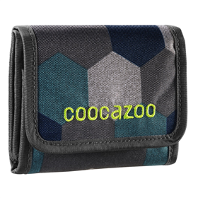 Penìženka coocazoo CashDash, Blue Geometric Melange