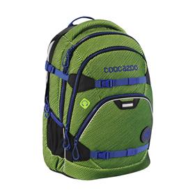 Školní batoh Coocazoo ScaleRale, Freaka Sneaka Chameleon Green, certifikát AGR