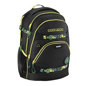 Školní batoh coocazoo e-ScaleRale TecCheck s elektronicky nastavitelným bederním popruhem, Black