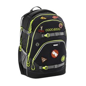 Školní batoh coocazoo ScaleRale, Black, certifikát AGR