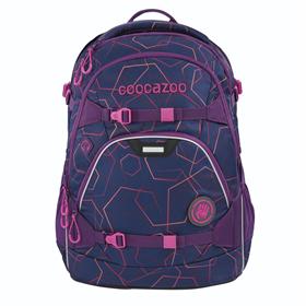 Školní batoh coocazoo ScaleRale, Laserbea Plum, certifikát AGR