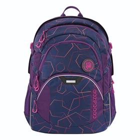 Školní batoh coocazoo JobJobber2, Laserbeam Plum