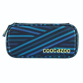 Penál coocazoo PencilDenzel, Zebra Stripe Blue