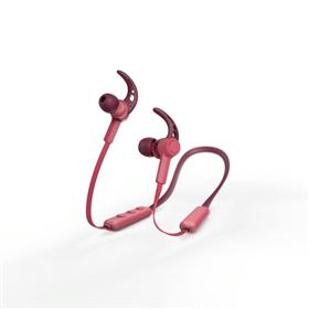 Hama Bluetooth špuntová sluchátka Connect Neck, èervená
