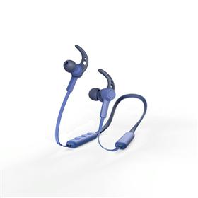 Hama Bluetooth špuntová sluchátka Connect Neck, modrá