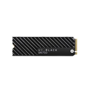 WD èerný SN750 SSD 2 TB s chlazením