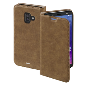 Hama Guard Case Booklet for Samsung Galaxy J6 , brown