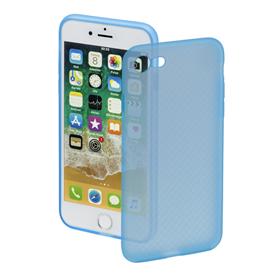 Hama Soft Touch, kryt pro Apple iPhone 7/8/SE 2020, modrý, limitovaná edice