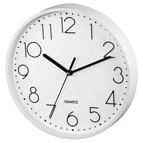 Hama PG-220, nástìnné hodiny, tichý chod, bílé