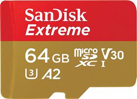 SanDisk microSDXC Extreme 64 GB