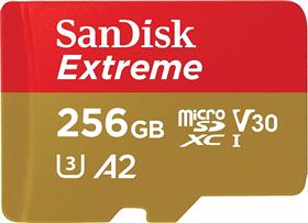 SanDisk microSDXC Extreme 256 GB