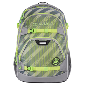Školní batoh coocazoo ScaleRale, MeshFlash Neongreen, certifikát AGR  BONUS ZDRAVÁ LAHEV za 1,- Kè