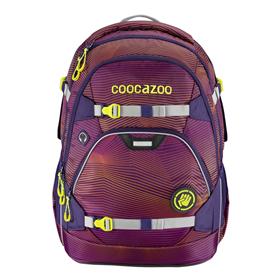 Školní batoh coocazoo ScaleRale, Soniclights Purple, certifikát AGR  BONUS ZDRAVÁ LAHEV za 1,- Kè