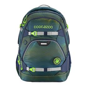 Školní batoh coocazoo ScaleRale, Soniclights Green, certifikát AGR  BONUS ZDRAVÁ LAHEV za 1,- Kè