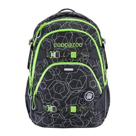 Školní batoh coocazoo ScaleRale,  Solar-Green, certifikát AGR  BONUS ZDRAVÁ LAHEV za 1,- Kè