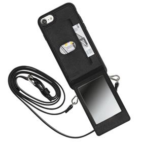 Hama Mirror, cross-body kryt s popruhem a zrcátkem, pro Apple iPhone 6/6s/7/8/SE 2020