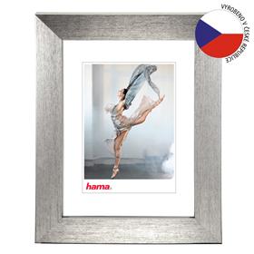 Hama rámeèek plastový PARIS, støíbrná, 15x21 cm