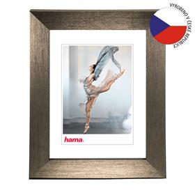 Hama rámeèek plastový PARIS, ocelová, 15x21 cm