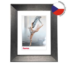 Hama rámeèek plastový PARIS, šedá, 18x24 cm