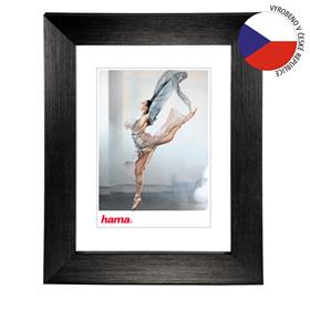Hama rámeèek plastový PARIS, èerná, 15x21 cm