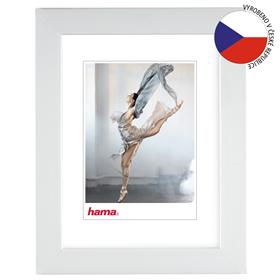 Hama rámeèek plastový PARIS, bílá, 15x21 cm