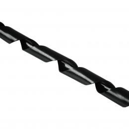Hama plastová kroucená trubice, 2 m, èerná