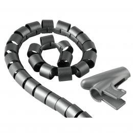 Hama trubice pro vedení kabelù, 2,5 m, 20 mm, støíbrná