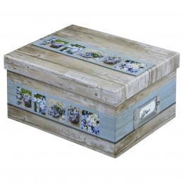 Hama fotobox RUSTICO 17x22x11 cm, bílá/modrá