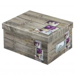 Hama fotobox RUSTICO 17x22x11 cm, lila