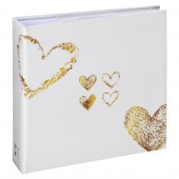 Hama album memo LAZISE 10x15/200, zlatá, popisové pole