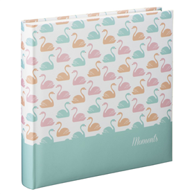 Hama album klasické SWAN 30x30 cm, 80 stran, pastelová