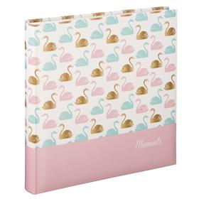 Hama album klasické SWAN 30x30 cm, 80 stran, zlatá