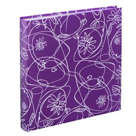 Hama album klasické DECORI II 30x30 cm, 100 stran, fialová