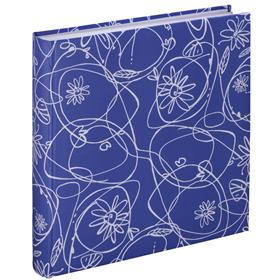 Hama album klasické DECORI II 30x30 cm, 100 stran, modrá